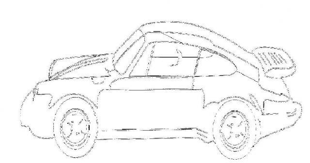 malvorlagen porsche vw bus t3 und vw käfer zeichnungen