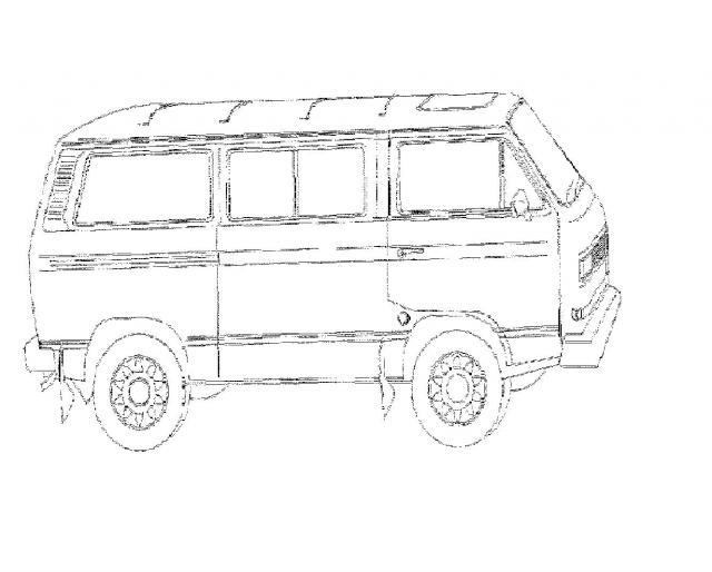 Malvorlagen Porsche Vw Bus T3 Und Vw Käfer Zeichnungen Käferblog