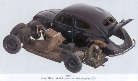 VW KdF Modell Wagen