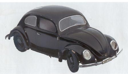 VW Vorserie KdF Wagen Modell