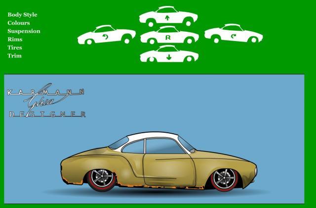 Tuning für Volkswagen Karmann Ghia