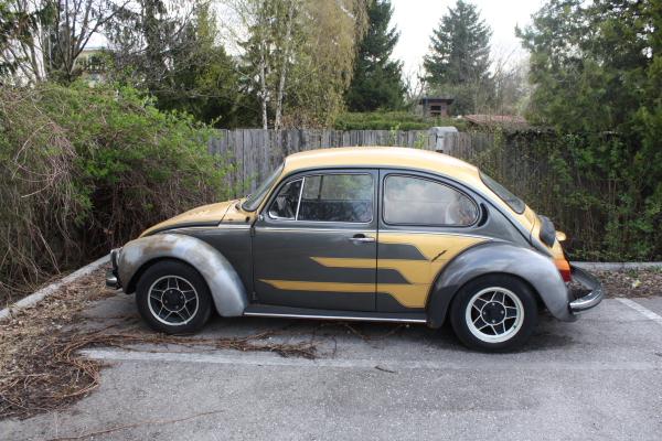 VW Käfer Umbau alt
