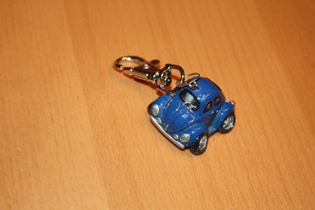 VW Käfer Comic Style Schlüsselanhänger