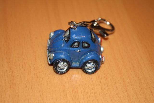 VW Käfer Comic Style Schlüsselanhänger seitlich