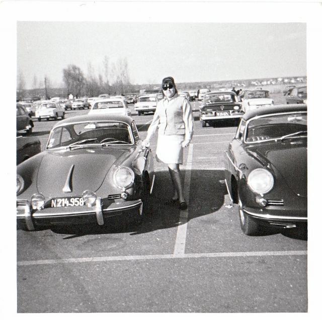 Volkswagen Typ 3 und Porsche 356 von damals