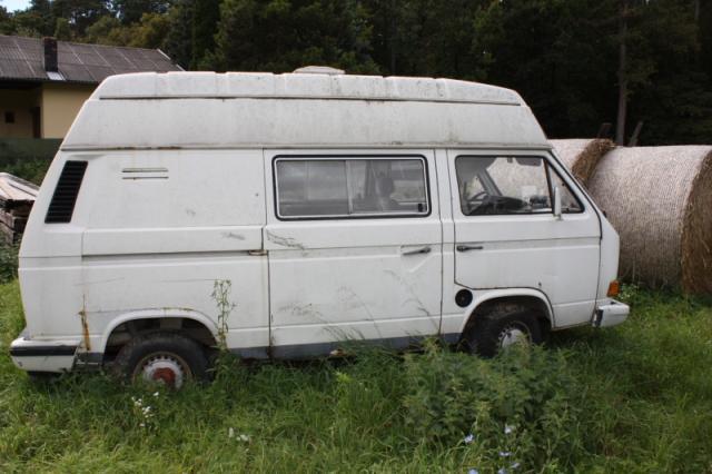 VW Bus T3 luftgekühlt mit Campingausstattung