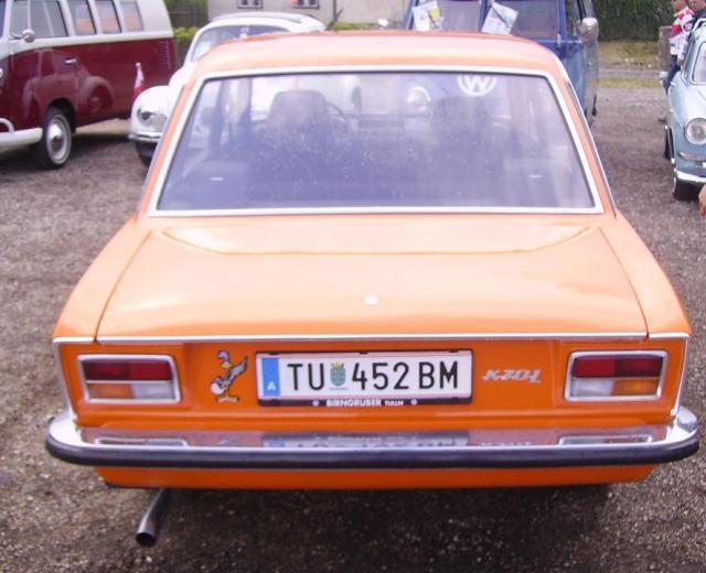 VW K 70 heck