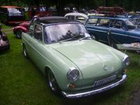 VW Typ 3 Stufenheck Kurzschnauzer birchgreen