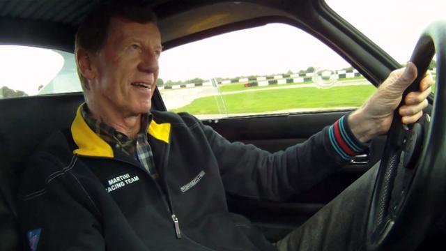 Walter Röhrl driftet mit Porsche 904 GTS
