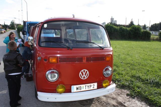 VW Bus Typ2 kleine Ausfahrt
