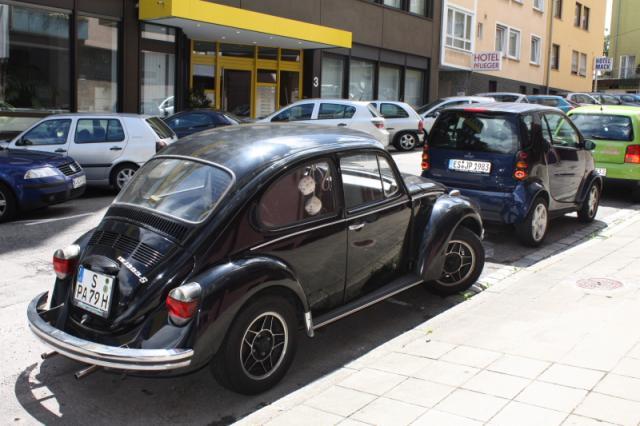 Oldtimer in Stuttgart und Mercedes Benz Museum