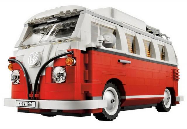 vw bus bulli campingbus t1 aus lego k ferblog. Black Bedroom Furniture Sets. Home Design Ideas