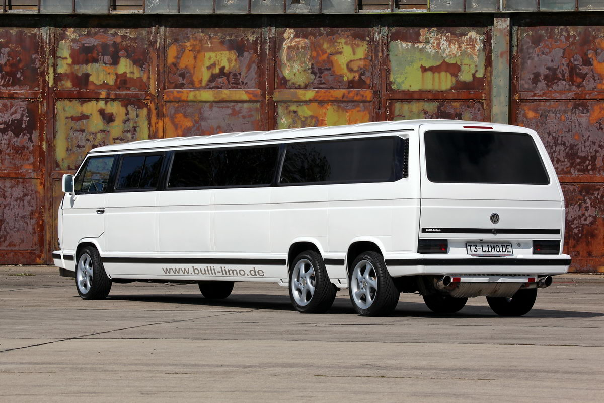 vw bus t3 als stretch limousine k ferblog. Black Bedroom Furniture Sets. Home Design Ideas