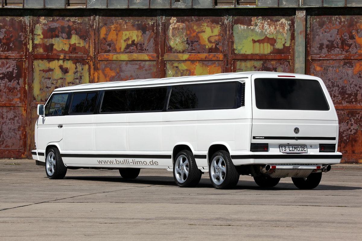 vw bus t3 als stretch limousine k ferblog. Black Bedroom Furniture Sets. Home Design Ideas