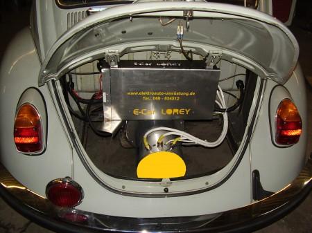 Elektroauto Umrüstung für VW Käfer, T1, T2 und T3