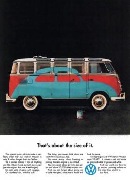 VW Bus T1 Samba Werbung