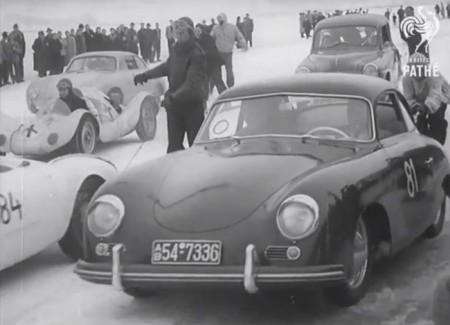 Skijöring Porsche 356
