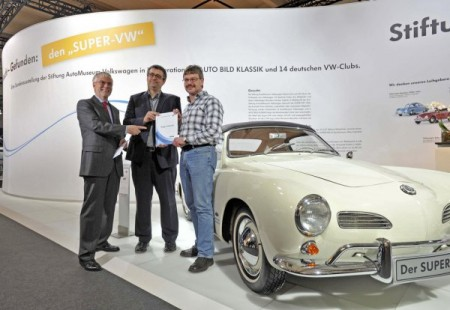 Super VW Gewinner Karmann Conradt
