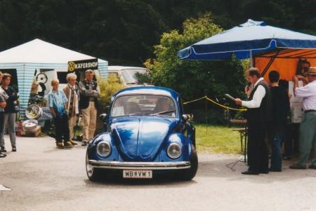 VW 1 Käfer blau