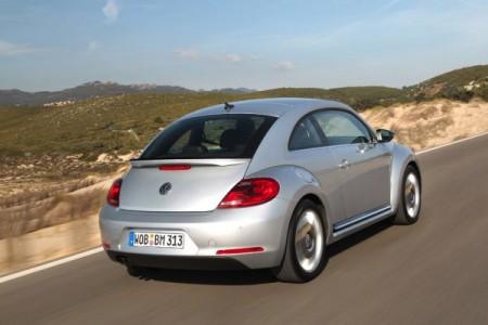 VW Beetle Heck