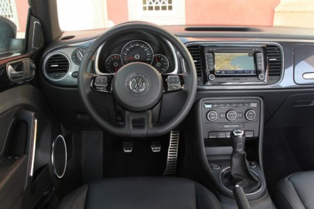 VW Beetle Innenraum 2012