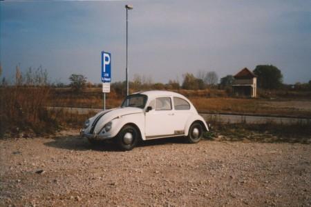 VW Käfer liegende Scheinwerfer