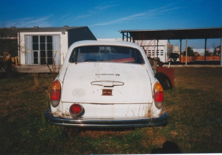 VW Typ 3 Heck