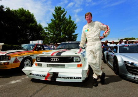 Walter Röhrl fährt wieder im Audi Sport Quattro S1 auf den Pikes Peak