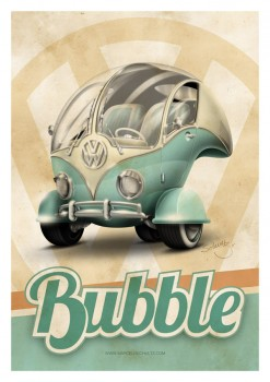 VW Bus T1 Bubble