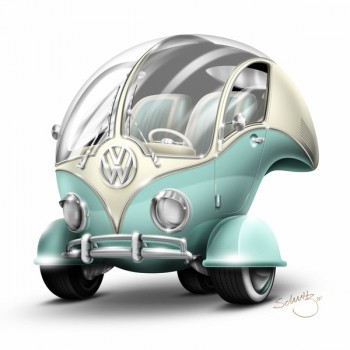 Volkswagen VW Bus T1 Bubble