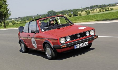 VW Golf I Cabriolet Youngtimer Classic