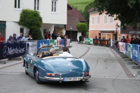 Ennstal Classic Mercedes Benz 300 SL 1961