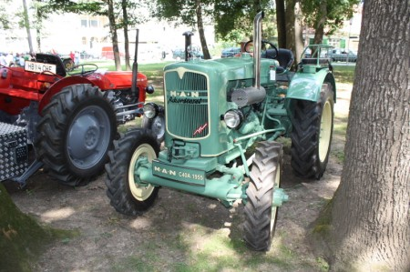 Oldtimertreffen Pinkafeld Traktor MAN
