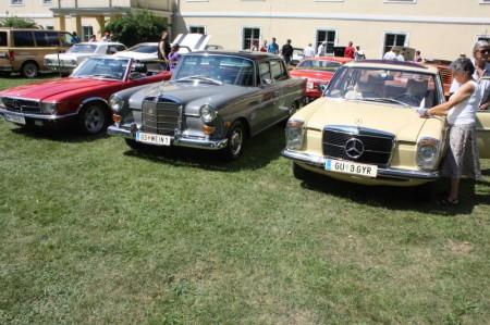 Oldtimertreffen Pinkafeld Mercedes Benz Reihe