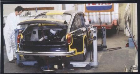 VW Typ 3 Rennwagen