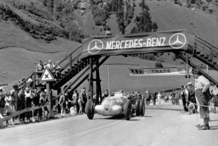 Hochalpenstrasse Mercedes-Benz Grossglockner Grand Prix