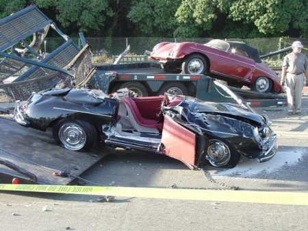 Porsche 356 Unfall Crash