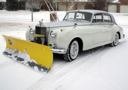 Rolls Royce Schneepflug