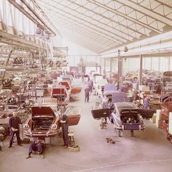 VW Porsche Arbeit Werk
