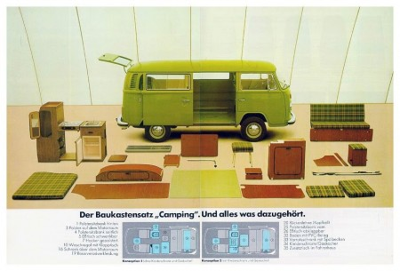 Westfalia Camping Bausatz VW Bus T2