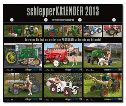 schlepper kalender 2013