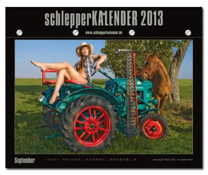 schlepper kalender  2013 Traktor Kalender