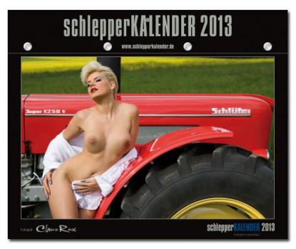 schlepperkalender 2013 Oldtimer Traktor Akt Model