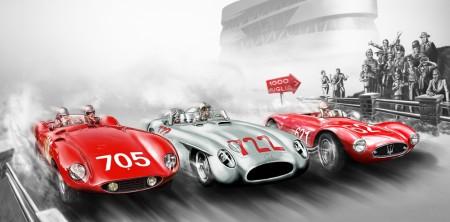 Sonderausstellung Mercedes-Benz Museum Mille Miglia