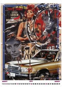 Mercedes-Benz Klassik Kalender Sophia Loren