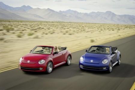Das neue VW Beetle Cabriolet: Weltpremiere auf der Los Angeles Auto Show
