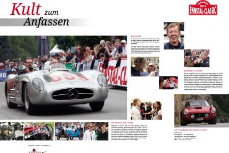 Ennstal Classic Kalender 2013 Mercedes-Benz 300 SLR Peter Pölzlbauer Hans Herrmann