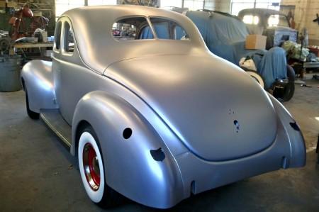 Ford-Rohkarosserie-1940er-Coupe-Umbau-Restauration-Nachbau