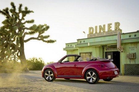 VW Beetle Cabriolet neu