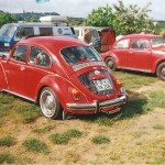 VW Käfertreffen Bradschwitz Dresden Deutschland 1998